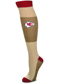 Kansas City Chiefs Womens Chalet Knee Socks - Red