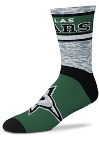 Dallas Stars Double Duece Crew Socks - Green