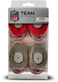 Kansas City Chiefs Baby DST Stripe Bootie Boxed Set - Red