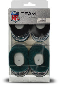 Philadelphia Eagles Baby DST Stripe Bootie Boxed Set - Green