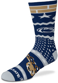 Penn State Nittany Lions Holiday Cheer Crew Socks - Blue
