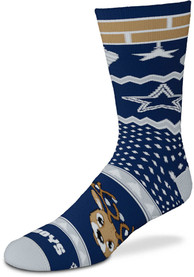 Dallas Cowboys Holiday Cheer Crew Socks - Blue