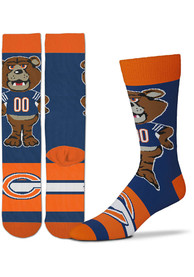 Chicago Bears Madness Crew Socks - Blue