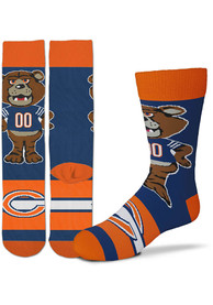 Chicago Bears Youth Madness Crew Socks - Blue