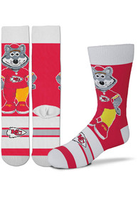 Kansas City Chiefs Youth Madness Crew Socks - Red