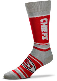 Kansas City Chiefs Womens Marquis Addition Crew Socks - Red