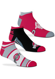 Ohio State Buckeyes Show Me The Money No Show Socks - Red