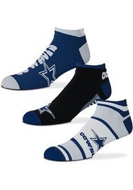 Dallas Cowboys Show Me The Money No Show Socks - Blue