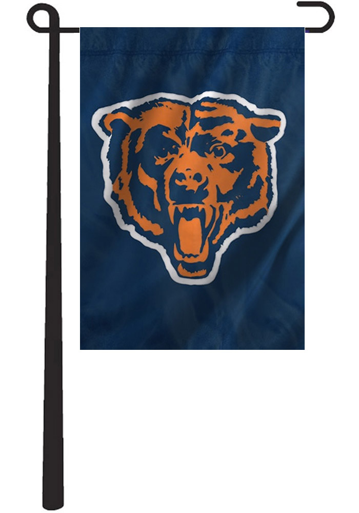 Chicago Bears Applique Garden Flag