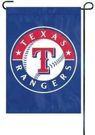 Texas Rangers 12x18.5 Applique Garden Flag
