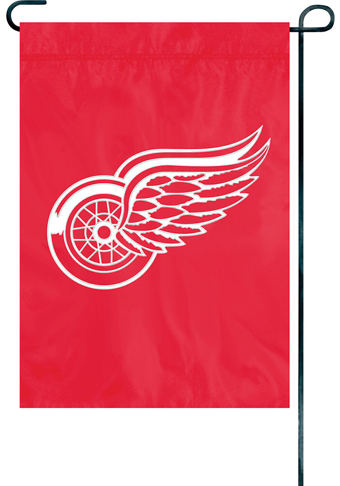 Detroit Red Wings 12x18 Garden Flag - Image 1