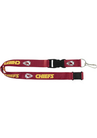 Kansas City Chiefs Red Buckle Lanyard
