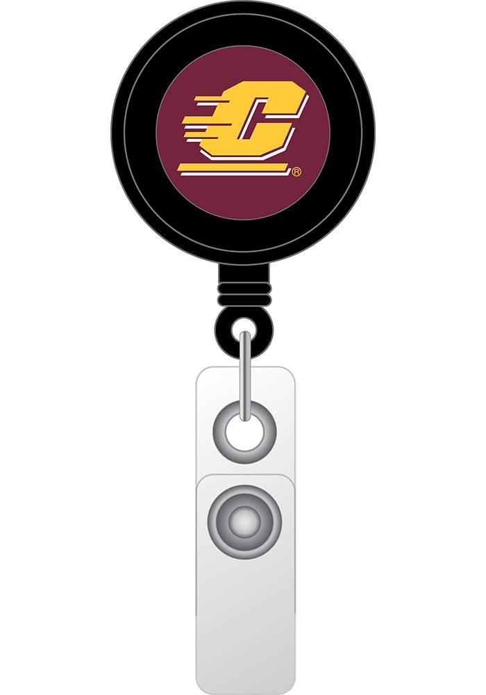 Central Michigan Chippewas retractable Badge Holder