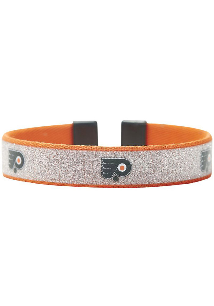 flyers bracelet philadelphia flyers sparkle womens bracelet 9121104 5209