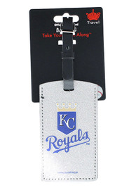 Kansas City Royals Sparkle Luggage Tag - Blue