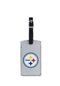 Pittsburgh Steelers Sparkle Luggage Tag - Black