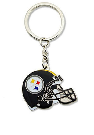 Pittsburgh Steelers Helmet Keychain
