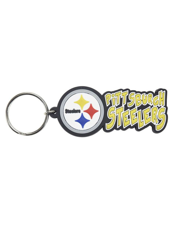 Pittsburgh Steelers Team Logo Keychain - Image 1