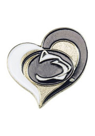 Penn State Nittany Lions Heart Swirl Pin