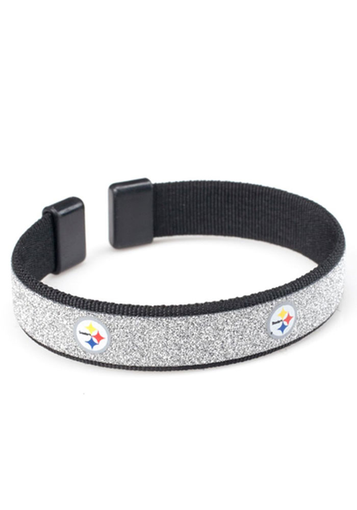 Pittsburgh Steelers Sparkle Womens Bracelet - Image 1