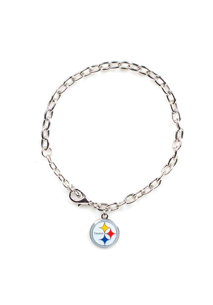 Pittsburgh Steelers Team Logo Womens Bracelet - Image 1
