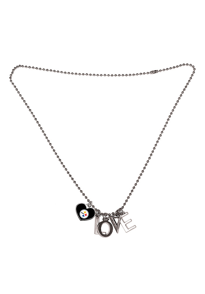 Pittsburgh Steelers Love Necklace - Image 1