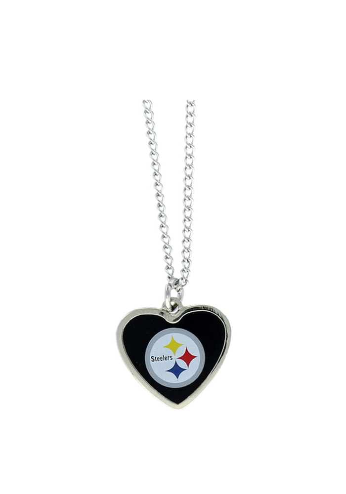 Pittsburgh Steelers Heart Necklace - Image 1