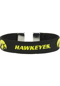 Iowa Hawkeyes Womens Ribbon Bracelet - Black
