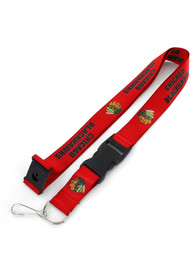 Chicago Blackhawks Team Logo Lanyard