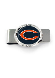 Chicago Bears Classic Money Clip - Silver