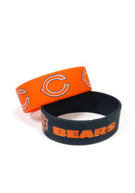 Chicago Bears Kids Wide Bracelet - Navy Blue