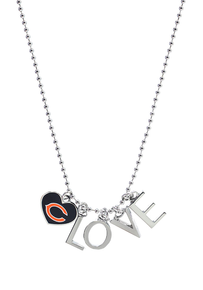 Chicago Bears Love Necklace - Image 1
