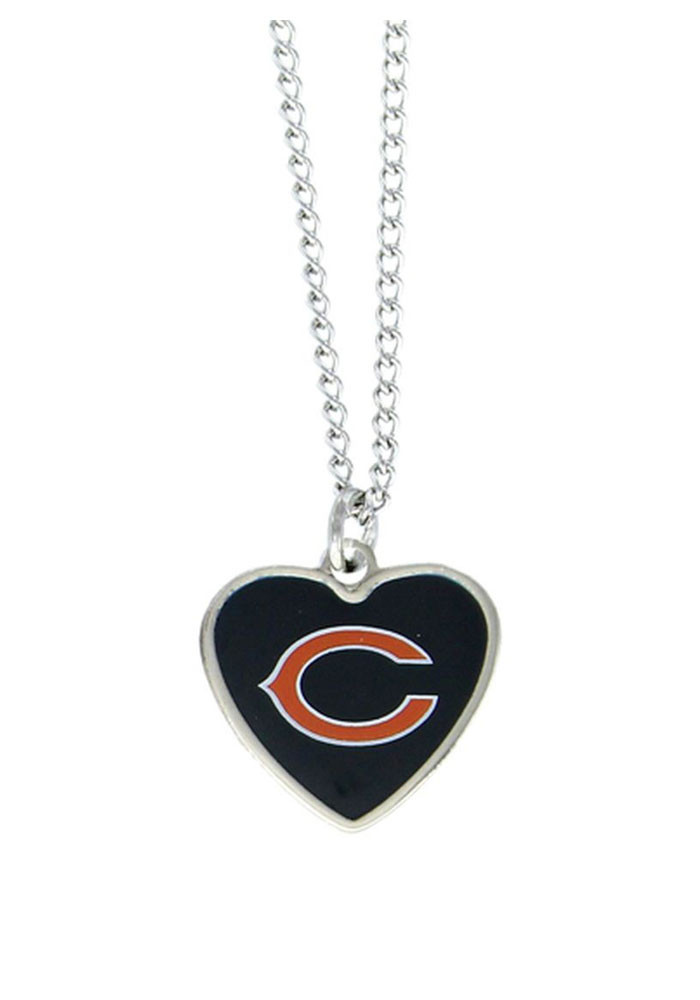Chicago Bears Heart Necklace - Image 1