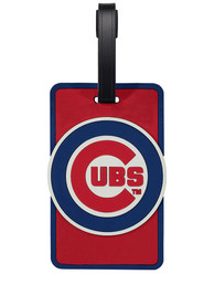 Chicago Cubs Rubber Luggage Tag - Blue