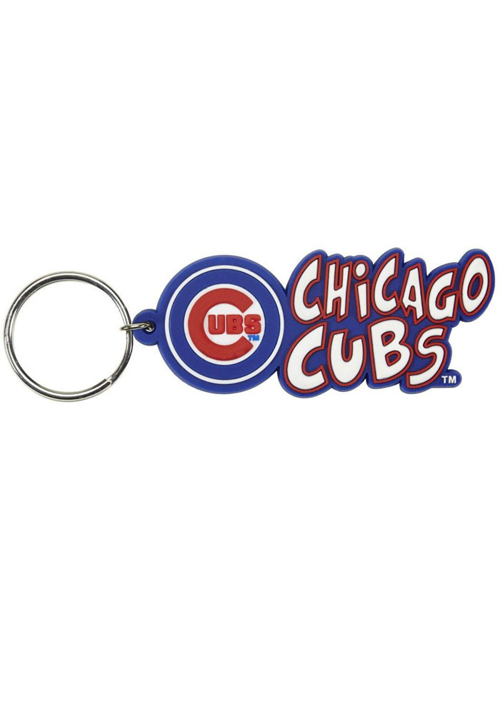 Chicago Cubs Image Ball Keychain - Image 1