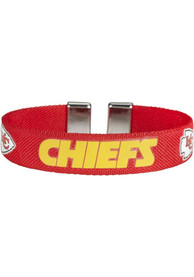 Kansas City Chiefs Womens Ribbon Bracelet - Red