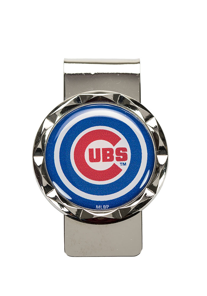 Chicago Cubs Classic Mens Money Clip - Image 1