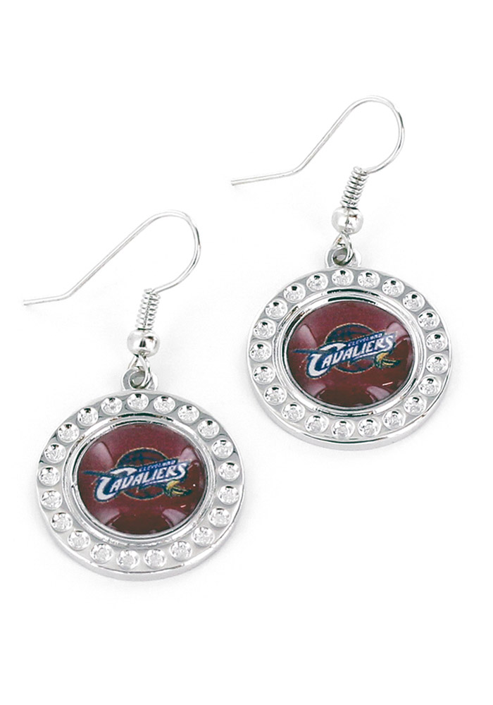 Cleveland Cavaliers Dimple Womens Earrings - Image 1