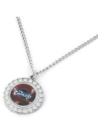 Cleveland Cavaliers Womens Dimple Necklace - Maroon