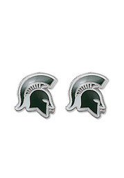 Michigan State Spartans Logo Post Womens Earrings