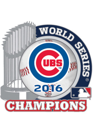 Chicago Cubs 2016 World Series Champions Pin
