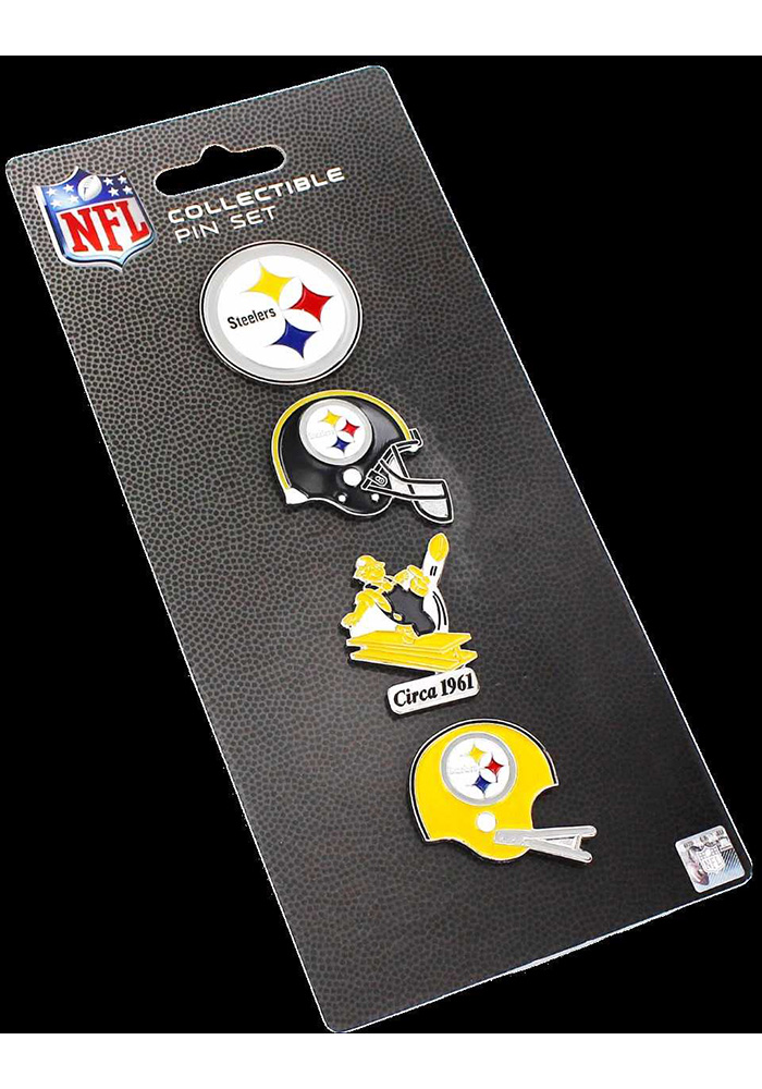 Pittsburgh Steelers Throwback Collector Set Pin