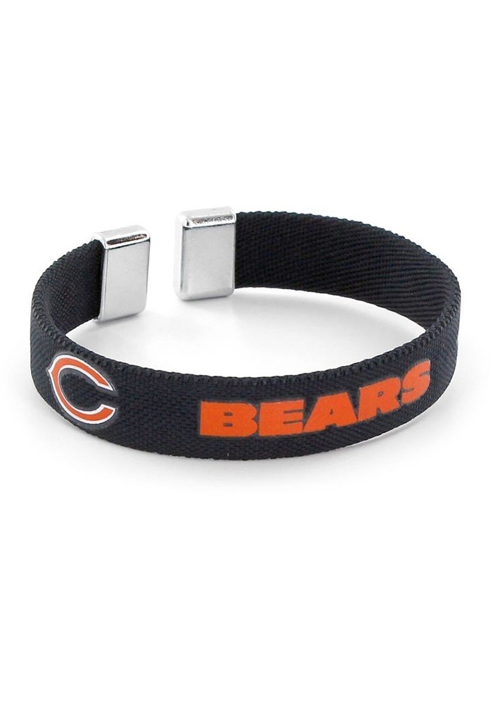 Chicago Bears Womens Ribbon Bracelet - Navy Blue