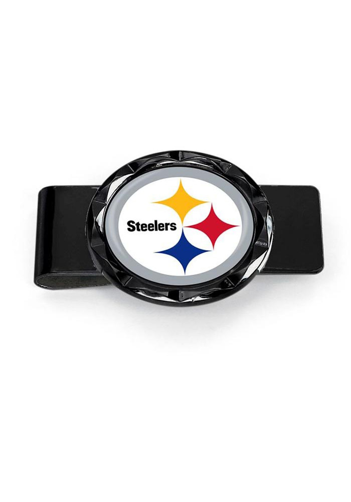 Pittsburgh Steelers Classic Mens Money Clip - Image 1