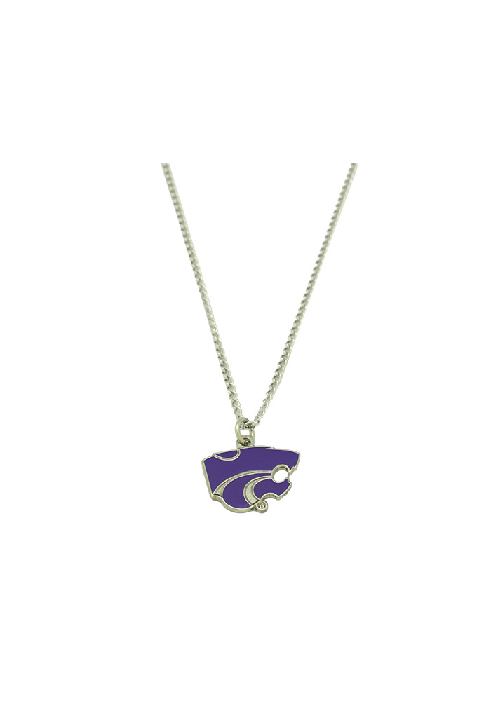 K-State Wildcats Womens Logo Necklace - Purple