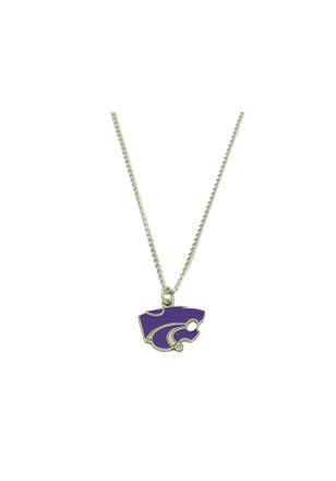 K-State Wildcats Logo Necklace