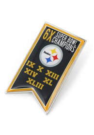Pittsburgh Steelers Super Bowl Champions Banner Pin