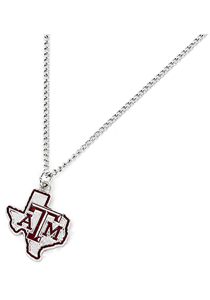 Texas A&M Aggies State Design Necklace - Image 1