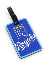 Kansas City Royals Rubber Luggage Tag - Blue