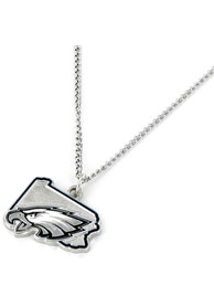 Philadelphia Eagles Womens State Design Necklace -